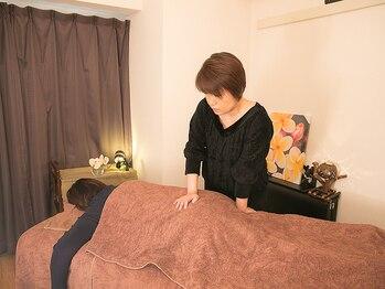 セラピーシェール(Therapie Cher)の写真/疲れをとことんほぐしたい女性に◎肩甲骨はがし/ヘッド&フェイス/骨盤矯正等お悩みに合わせたMENUが豊富♪