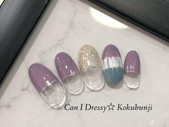 キャンアイドレッシー 国分寺店(Can I Dressy)/季節のキャンペーンネイル★10月