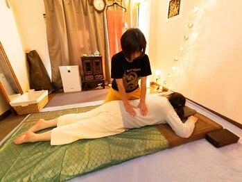 すっくじゃいの写真/《タイ古式マッサージ60分¥4300~☆》慢性的な腰のつらさをほぐす/押す/伸ばすでスッキリ解消しませんか?