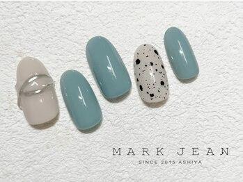 マークジーン 姫路(MARK JEAN)/ダルメシアン ミラー ネイル