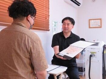 サムライ(SAMURAI)の写真/毎朝の髭剃りから解放。脱毛通いは男の新常識。体毛で悩む全ての男性へ、圧倒的効果のハイスペック脱毛を。