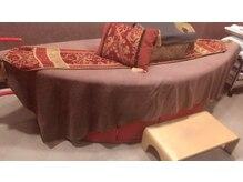 アラビアンナイトリラクゼーション ライラ(LAYLAH)の雰囲気(◆寝たままハーブのスチームを浴びられるサウナベッド)
