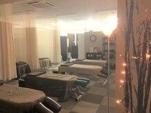 仙台整体センターの雰囲気(ベッド数が多いので、お友達との来店もオススメ♪)