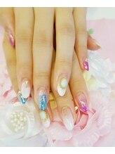 トリーシア(Nail & Beauty Salon Tri-xia)/キラキラホログラムネイル