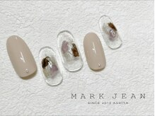 マークジーン 姫路(MARK JEAN)/塗りかけ ネイル