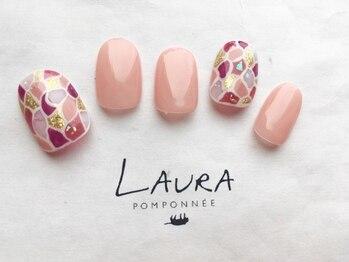ローラポンポニー(Laura pomponnee)/ステンドグラス風