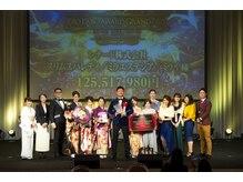 ミライ 新宿店の雰囲気(美と健康に貢献したサロンとして世界15000社中グランプリを受賞)