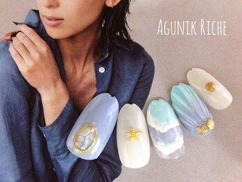 アグニークリッシェ(Agunik Riche)/【海ネイル】