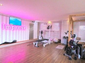 インプルーブ セクシーボディ メイクスタジオ(Improve Sexy body make studio)の写真/【ブライダルプランあり☆】パーソナルトレーニングで効率的に美しく!頑張った分だけ綺麗になれる♪