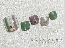 マークジーン 姫路(MARK JEAN)/フット ストライプ グリーン