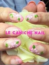 ネイルサロンアンドスクール ル カニシュ(Le caniche)/桜ネイル