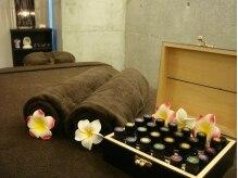 リラックスアロマでじっくり癒します♪お好みの香りをチョイス!