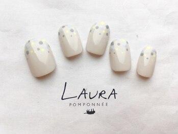 ローラポンポニー(Laura pomponnee)/先端ドット