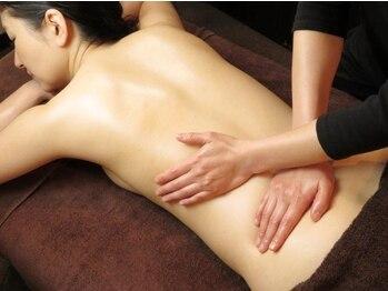 ミストモックの写真/腰が重い・痛い時にはリンパデトックス!60分~180分までご用意♪普段の姿勢からくる筋肉の凝り固まりに◎