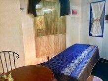 リラクアンドブライダル ル コトン(Le Coton)の雰囲気(【青の部屋】素敵な雰囲気のお部屋です)