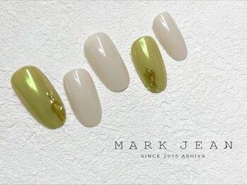 マークジーン 姫路(MARK JEAN)/ピスタチオ オーロラ ネイル