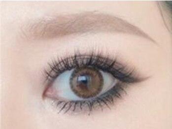 チュラ アイラッシュ(chula eyelash)の写真/自まつ毛が少ない方に◎の【3Dボリュームラッシュ】とても軽く負担の少ない【フラットラッシュ】をご提案♪