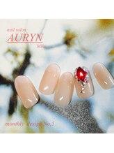 アウリン(AURYN)/1月 monthly design No,5