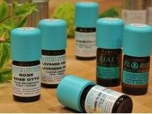 テトテ(TE to TE Natural Beauty & Relaxation)の雰囲気(21種類のオーガニックオイルからご選択できます。)