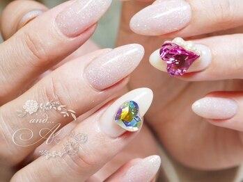 ネイルルーム アンドエー(nail room and...A)/ハートスワロ