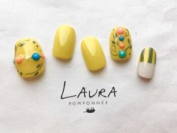 ローラポンポニー(Laura pomponnee)/マスタードカラー