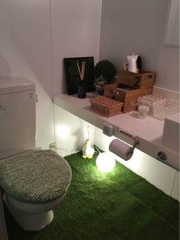 アロマアンドボディデザインサロン アースカラー 自由が丘(EARTH COLOR)/トイレ