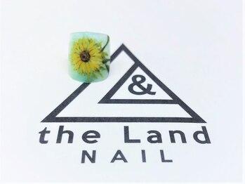 ザ ランド ネイル(the Land Nail)/ゴッホのひまわり △浅井