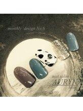 アウリン(AURYN)/1月monthly design No,6