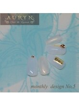 アウリン(AURYN)/7月限定monthly design No,5