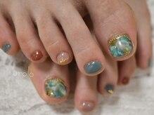 アトリエ ウローロ(Atelier urolo)の雰囲気(足先をお洒落に彩るフットネイル♪)