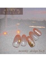 アウリン(AURYN)/7月限定monthly design No,6