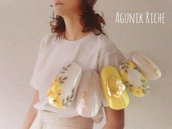 アグニークリッシェ(Agunik Riche)/【ミモザネイル】