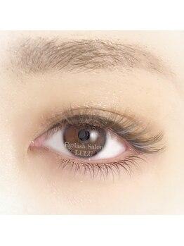 アイラッシュサロン ルル(Eyelash Salon LULU)/上品カラーボリューム&下まつ毛