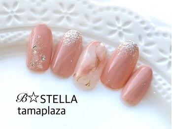 ビーステラ 東急百貨店たまプラーザ店(B-STELLA)/トレンドネイルデザイン¥8980