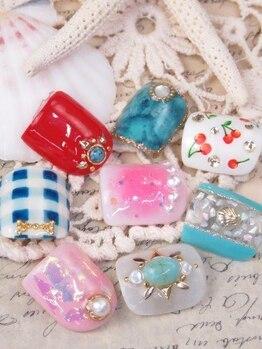 ネイルサロン キャンディネイル(Candy Nail)/フットジェル定額¥5940or¥6480