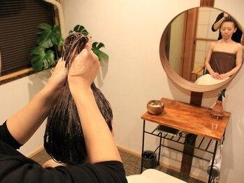 ハティー バリスパ(hati balispa)の写真/インドネシア伝統の頭皮マッサージ「クリームバス」で気になる頭痛の緩和、眼精疲労の改善にも◎
