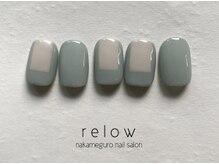 リロウ(relow)/1月キャンペーンネイル