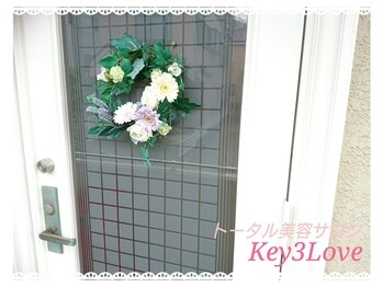 ネイルアンドリラクゼーションサロン キースリーラブ(key 3 Love)
