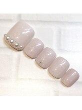 ライト ネイルズ ニシノミヤ(light nails NISHINOMIYA)/フットネイル☆¥7590