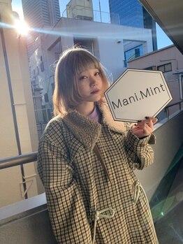 マニミント 表参道店(mani.mint)/BiSH チッチご来店*