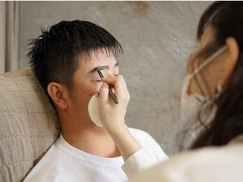 イーヨー(Eyore)の写真/必要なのは「清潔感」デキる男の印象操作《美眉スタイリング》Eyoreはメンズ専門のサロンです♪