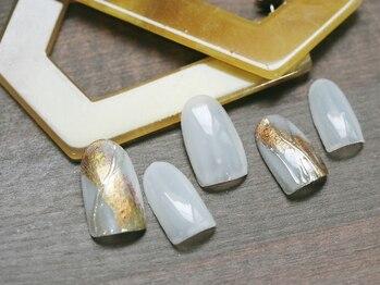 ネイル ジー(Nail g)/水彩ネイル・シンプルコース
