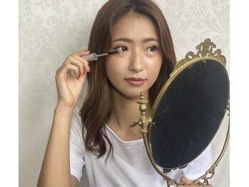モアソシア/まつ毛美容液でケアしながら☆