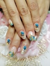 トリーシア(Nail & Beauty Salon Tri-xia)/天然石ネイル