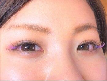 リアン 入間店(Rian)の写真/ブラウン~ビビットなカラーまで♪フルカラーエクステ100本まで¥7,300★MIXカラーの美しさに大満足☆