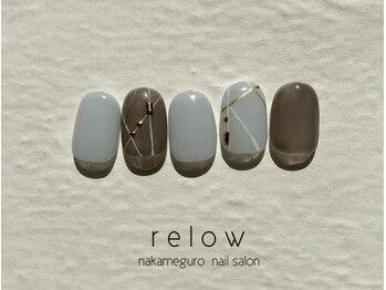 リロウ(relow)/ワンカラー×ラインアート