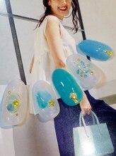 ビューティー プレイス ジャム イップク(Beauty Place JAM IPPUKU)/初夏新作☆ワイヤーサマーネイル