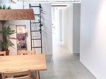 個室のプライベート空間