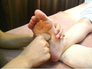 癒しガーデン/足裏