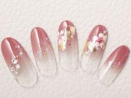 和装桜ネイル